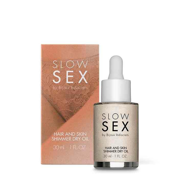 SLOW SEX - Aceite Iluminador Corporal con Aroma-CHERISH
