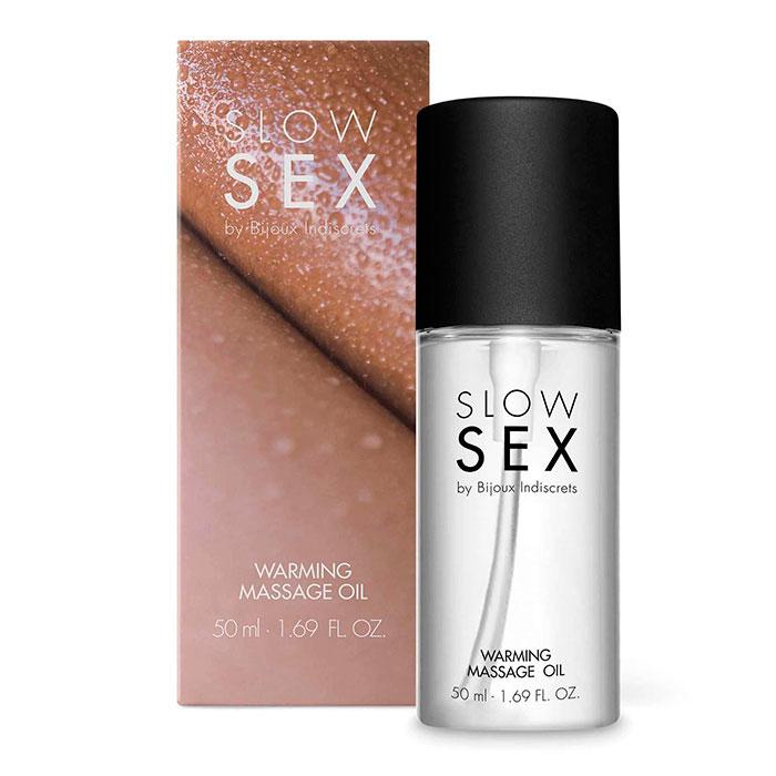 SLOW SEX - Aceite Masaje Efecto Calor-CHERISH