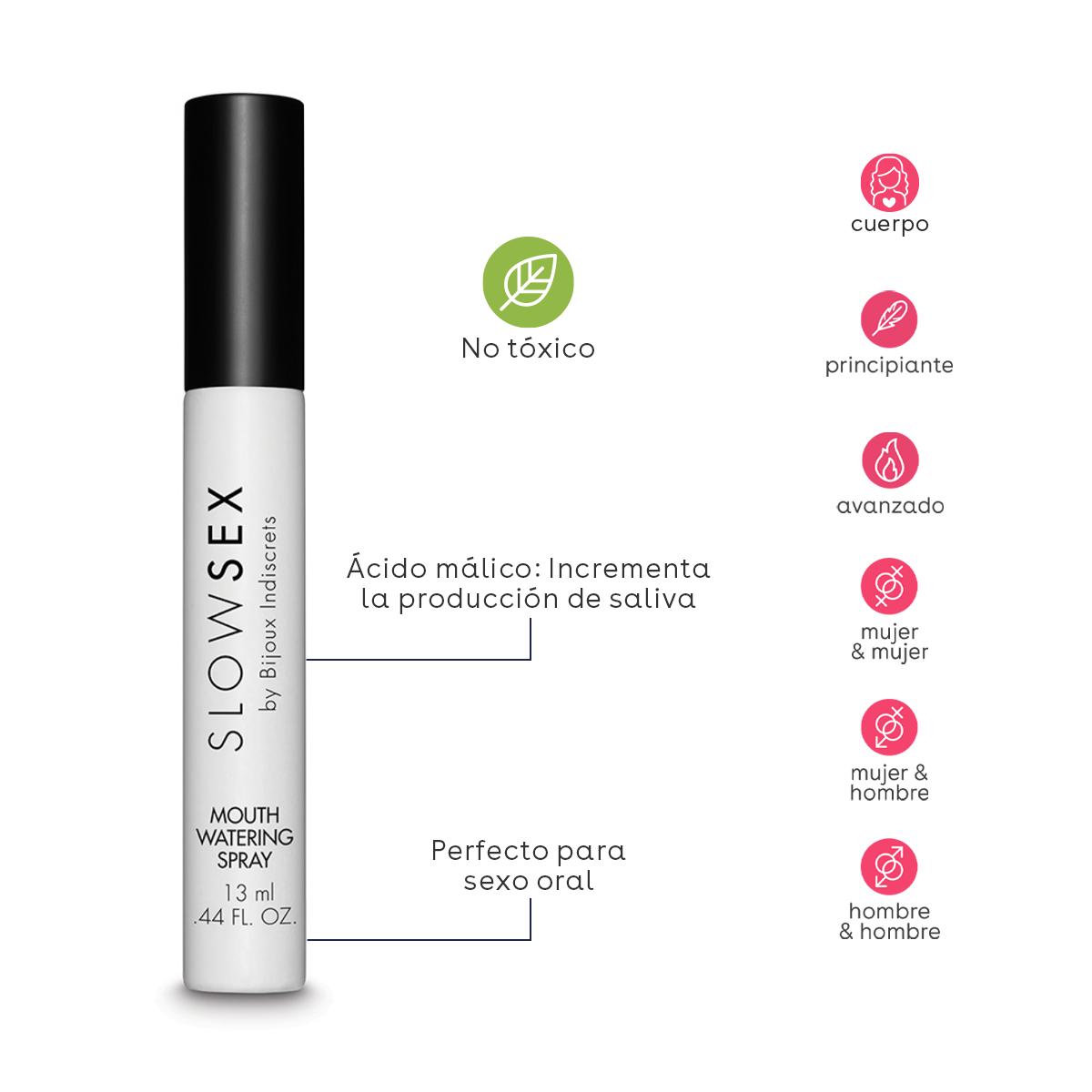 Spray salivador sexo oral
