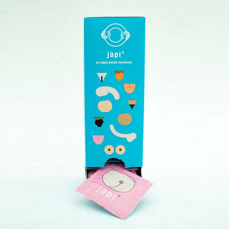 Japi condones- Master Box - 33 preservativos para pene-CHERISH