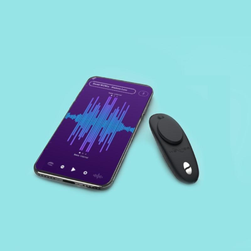 Moxie by We-Vibe - Vibrador de Clítoris - Uso con control y aplicación-CHERISH