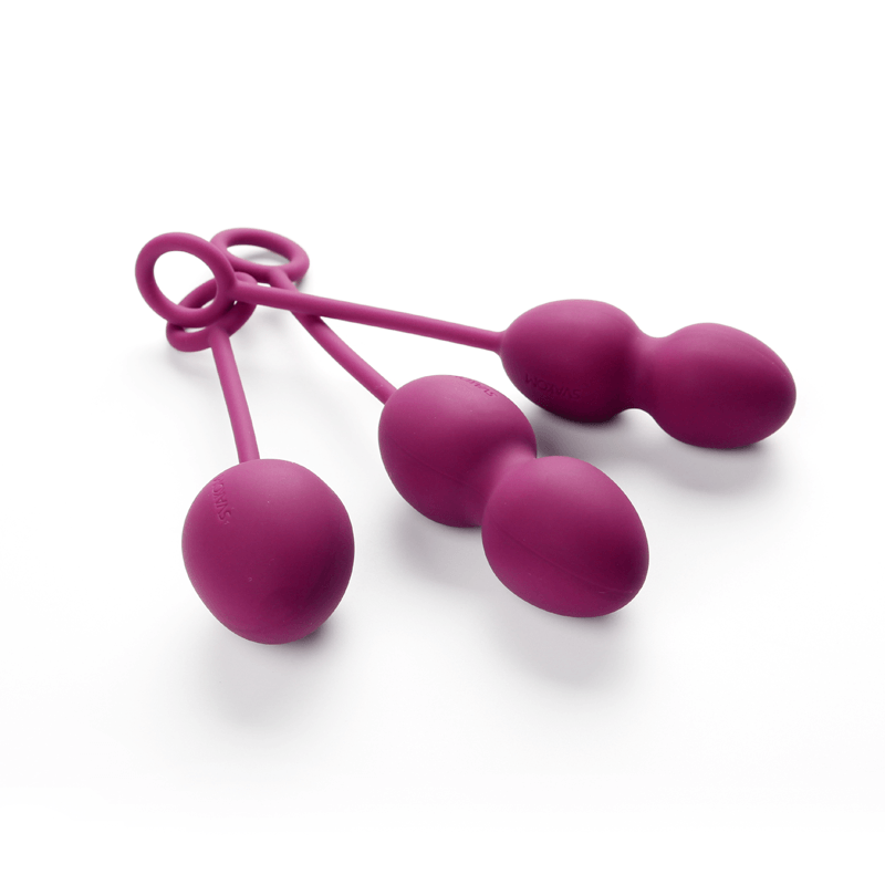 SVAKOM Nova Balls - Bolas de Kegel - Set de 3-CHERISH