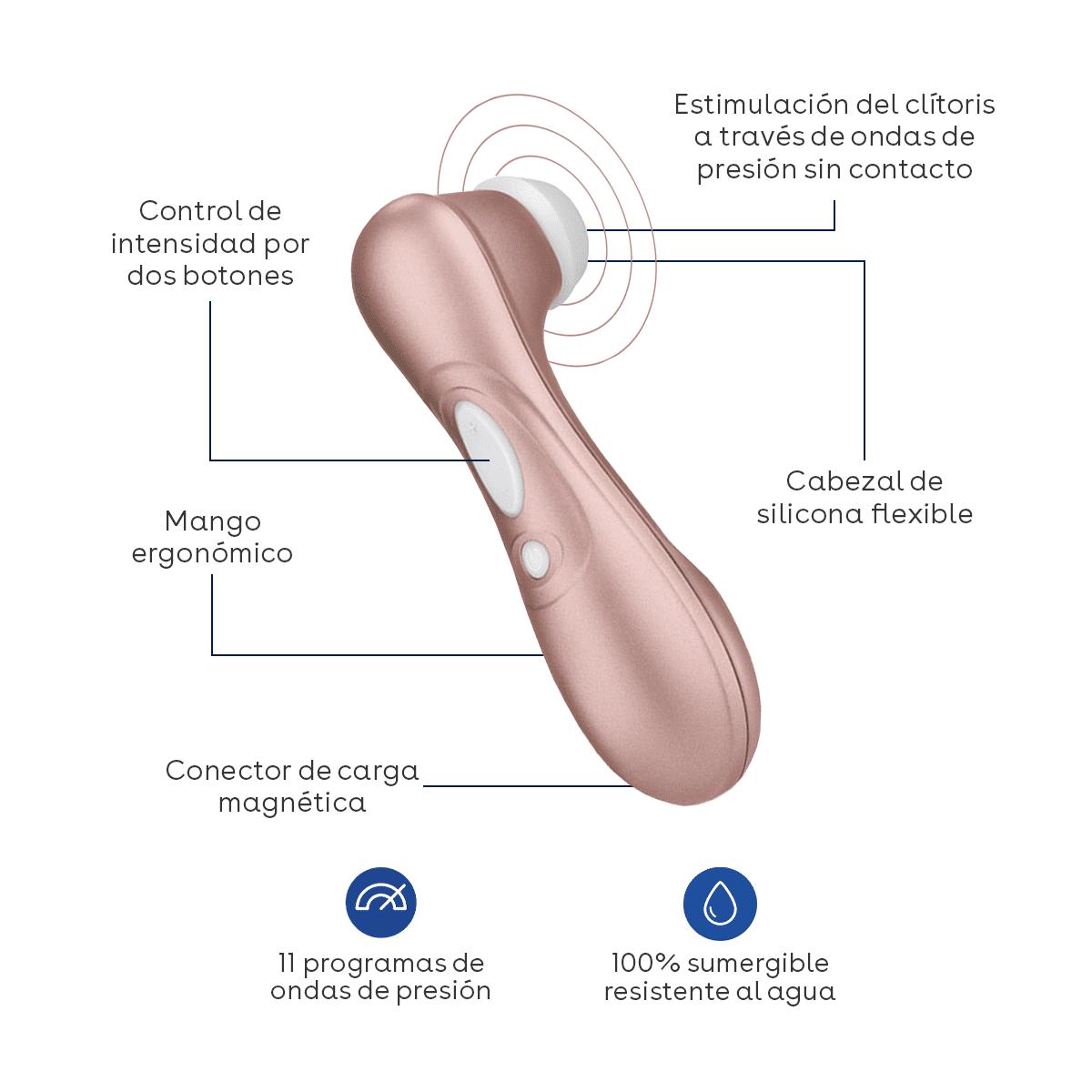 funciones satisfyer succionador de clitoris