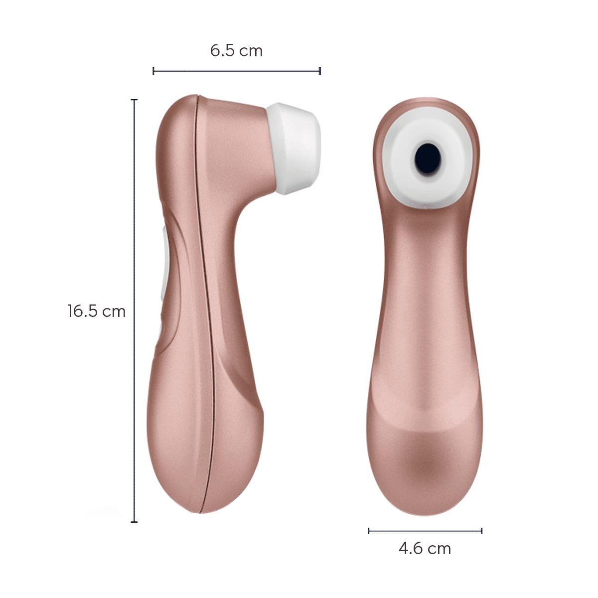 medidas satisfyer succionador de clitoris