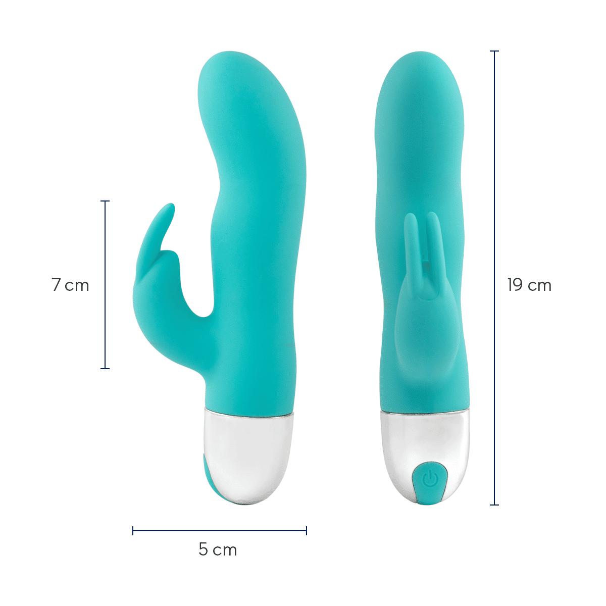 mini dildo doble estimulación